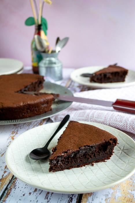 Gâteau au chocolat sans beurre très fondant et moelleux