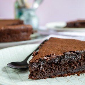 gateau au chocolat sans beurre tres fondant et moelleux1