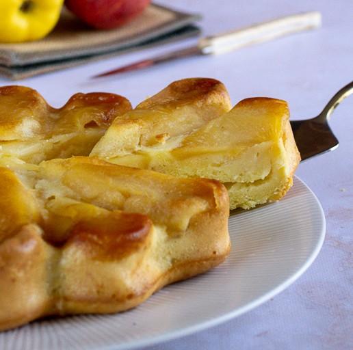 biscuit moelleux aux pommes
