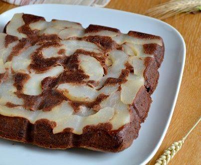 brownies a la poire