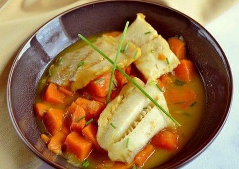 cabillaud aux patates douces au curry 1
