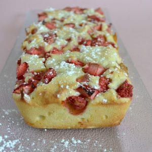 cake fondant fraises mascarpone