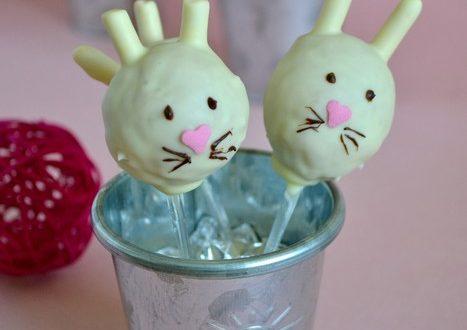 cakepops petits lapins aux speculoos