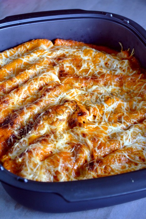Cannellonis au boeuf et au mascarpone