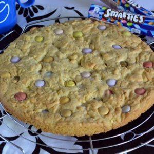 cookie geant au smarties