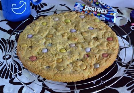 Cookie géant aux Smarties