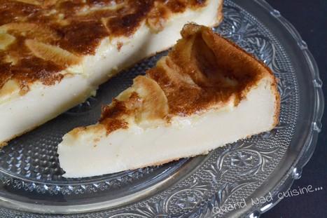 Far breton aux pommes et au jus de pomme