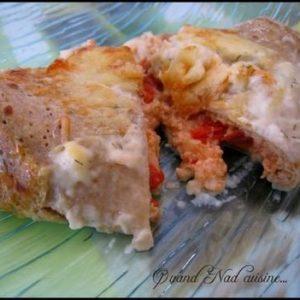 galettes la brousse gratin es au saumon fum 1