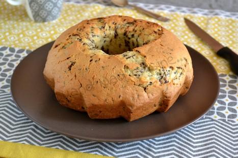 Gâteau très moelleux au mascarpone aux vermicelles de chocolat