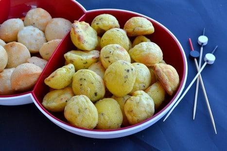 mini croquettes de pommes de terre