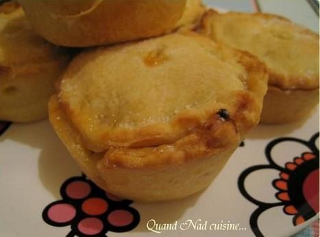 Mini-tourtes aux pommes et au calvados