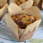 Muffins américains aux pépites de chocolat