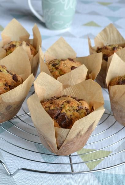 muffins americains aux pepites de chocolat