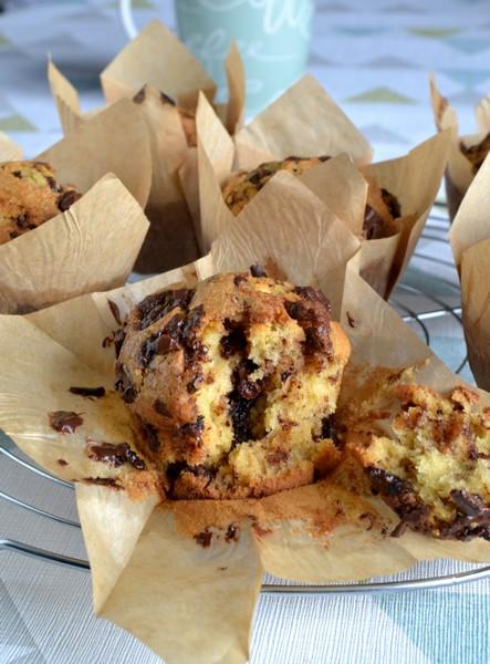 muffins americains aux pepites de chocolat2