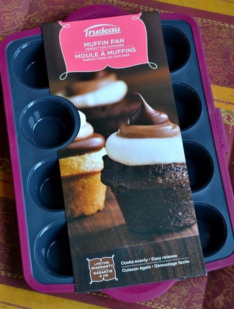 Muffins coeur de spéculoos