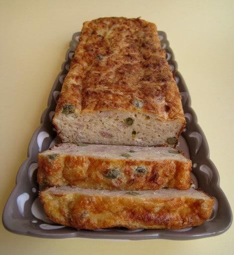 pain de thon aux câpres