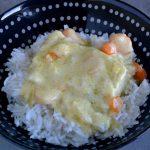 Poisson au curry (au cookeo)