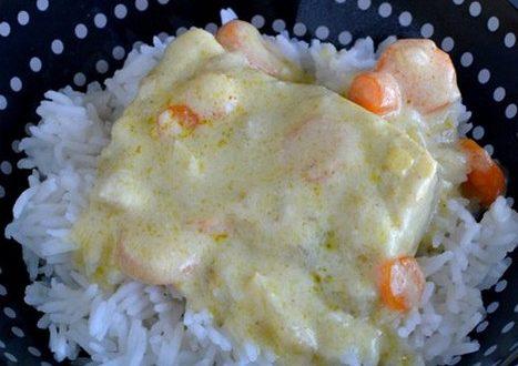 poisson au curry cookeo