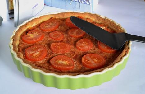 Quiche thon tomate