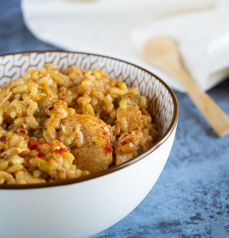 risotto poulet poivron 1