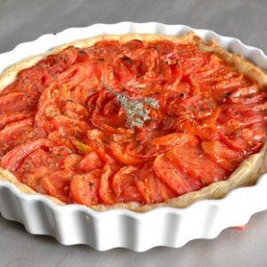 tarte amandes tomates