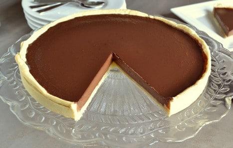 Tarte au chocolat (d'après Conticini)