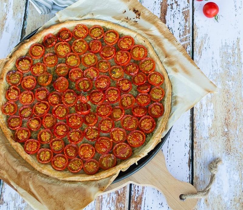 tarte fine aux tomates cerises 1