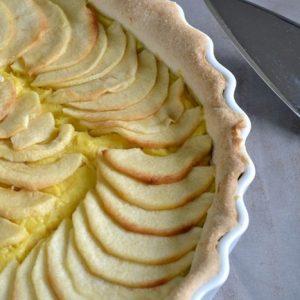 tarte patissiere aux pommes 4