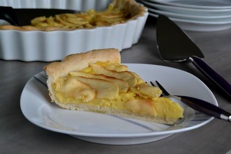 Tarte pâtissière aux pommes