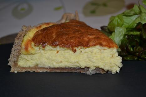 tarte soufflee au maroilles