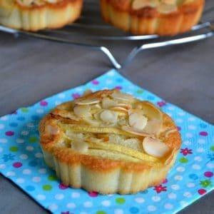 tartelettes amandines aux pommes