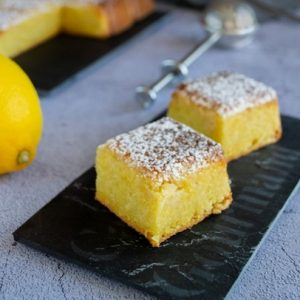 torta caprese chocolat blanc citron 1