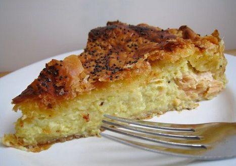 tourte saumon poireaux cancoillotte