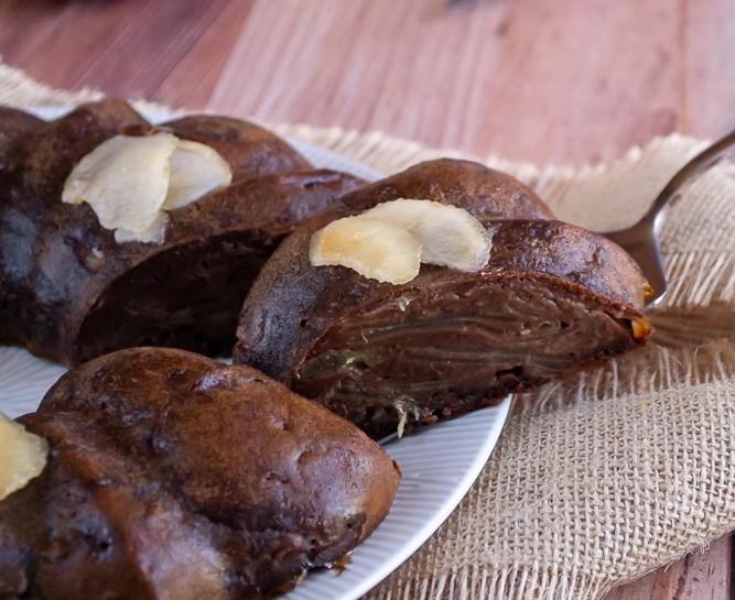 gateau invisible poire chocolat 1