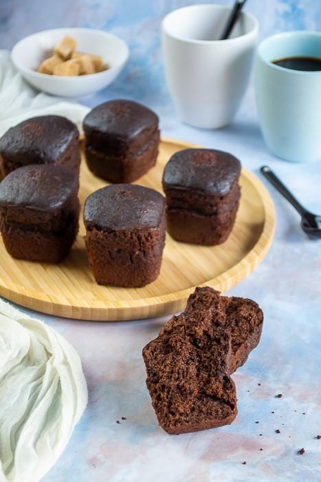 gâteaux au yaourt au chocolat (multidélices)