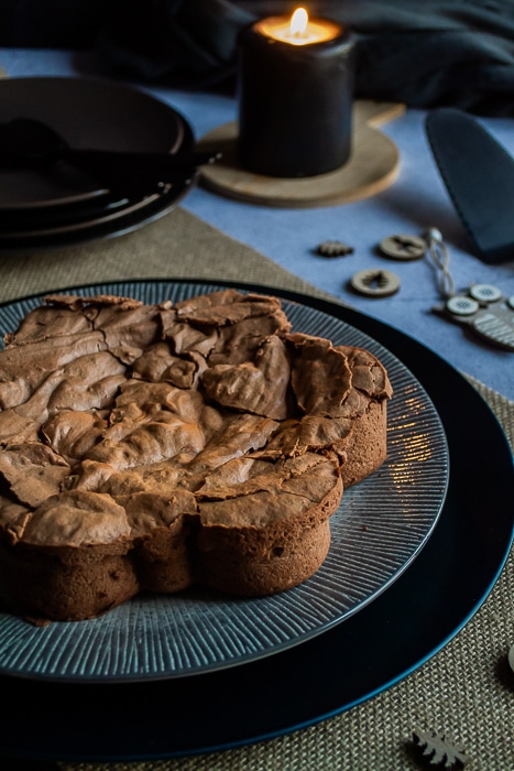 Gâteau au chocolat aux blancs d'oeufs