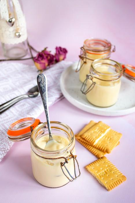 crèmes dessert au petit-beurre