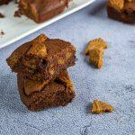 Brownies chocolat spéculoos