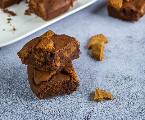 brownie chocolat speculoos 1
