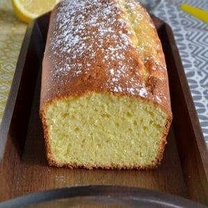 cake a la semoule et au citron