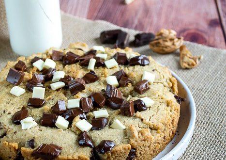 cookie geant aux 3 chocolats