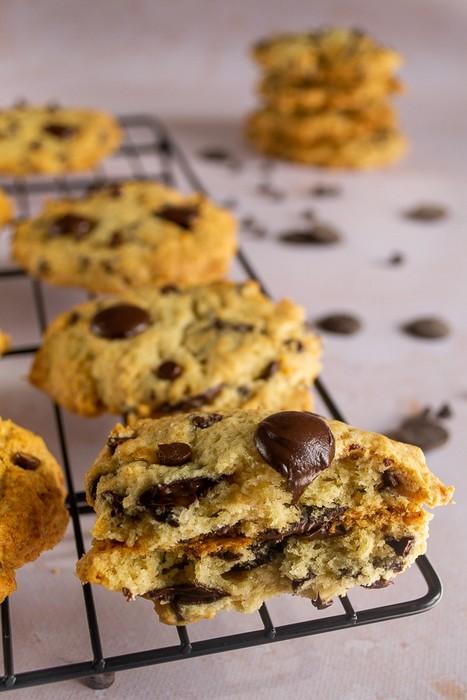 Cookies banane chocolat (sans œufs)