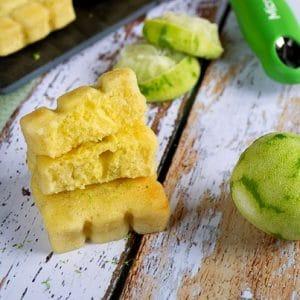 fondants au citron vert et au rhum 1