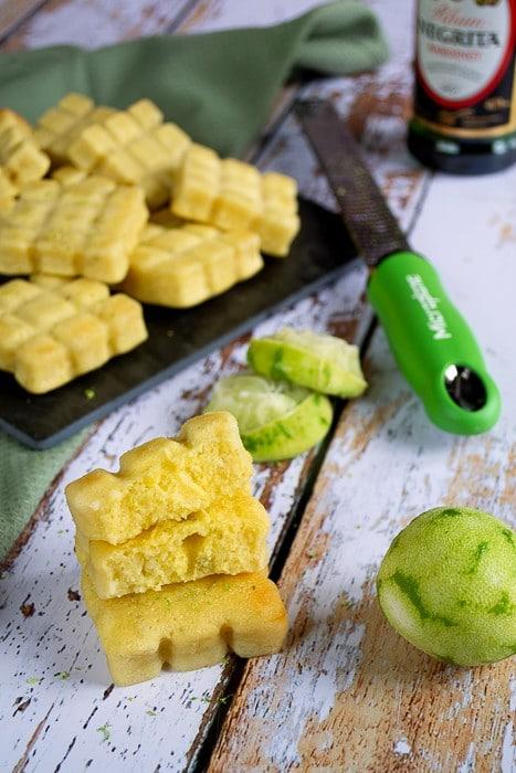 Fondants au citron vert et rhum