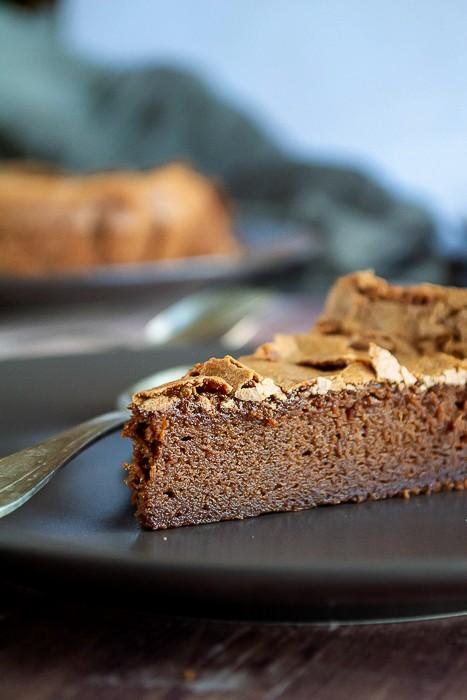 gâteau au chocolat de Frédéric Bau