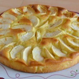 gateau pommes mascarpone