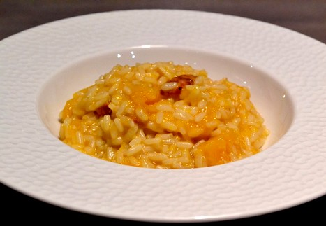 risotto butternut chorizo cookeo