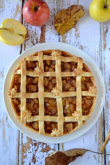 Tarte aux pommes façon apple pie