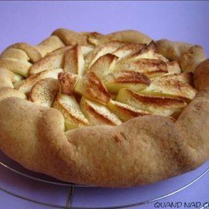 tarte aux pommes toute simple1