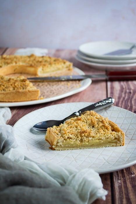 tarte crumble aux pommes1